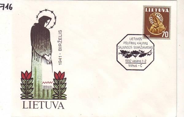 9 Belege Von 1992 Litauen Europa