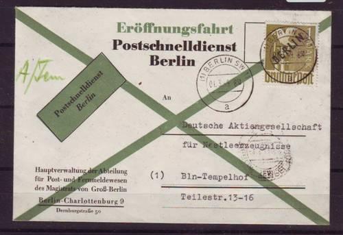 Briefmarken Von Berlin Bedarfsbriefe Kaufen Seba Berlin