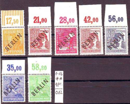 Briefmarken Von Berlin Briefe Kaufen Seba Berlin