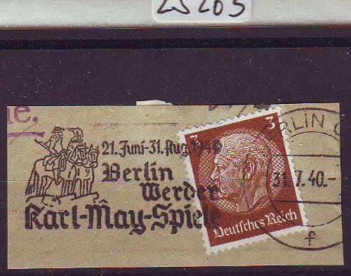 Deutschland 1933-1945 Sonderstempel Gestempelt Deutsches Reich Briefstück 1930 Regensburg Fernsprecher 2019 Offiziell